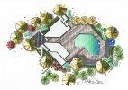 kurz kreslení půdorys zahrada