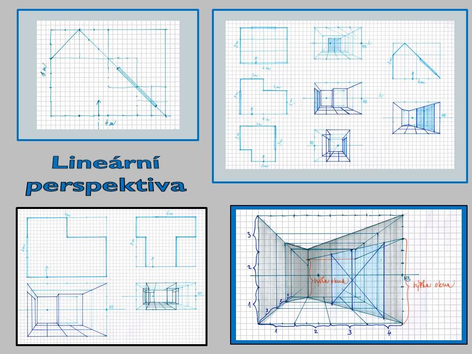 lineární perspektiva kurzy kreslení