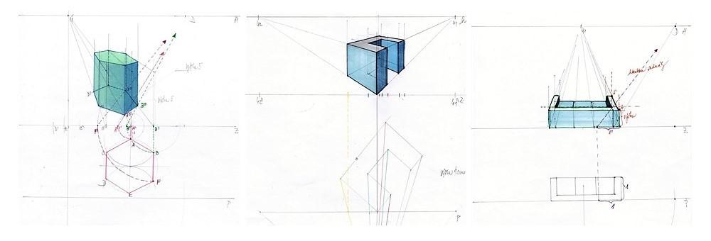 perspektivní zobrazování - metody