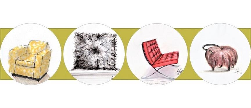 skicování textur a povrchů nejen pro designéry a návrháře